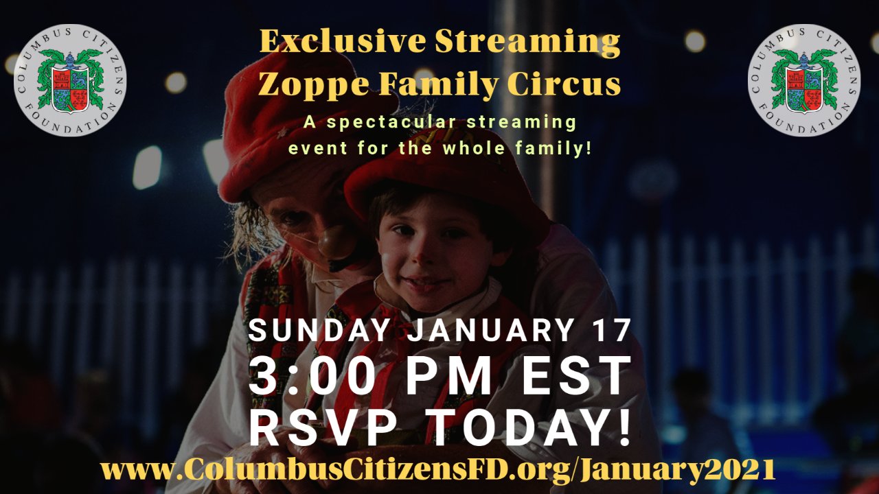 Exclusive Streaming of the Zoppé Family Circus