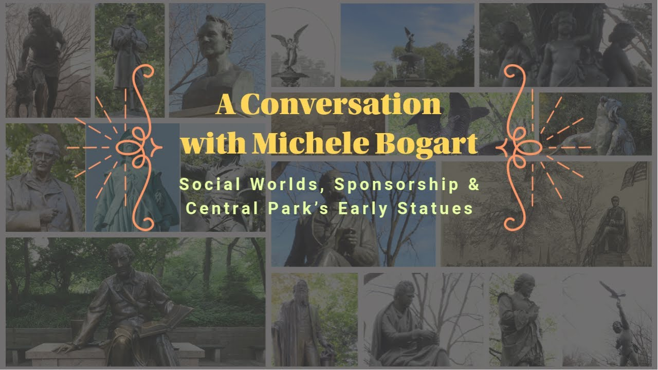 Michele Bogart on Central Park Statues