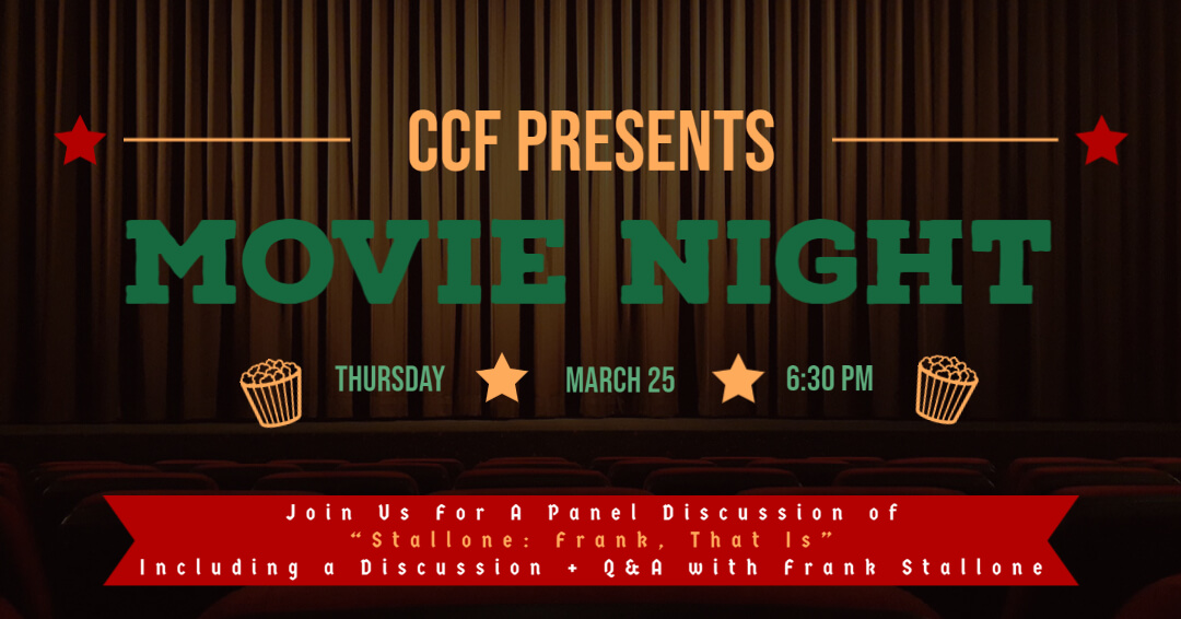 Frank Stallone CCF Movie Night