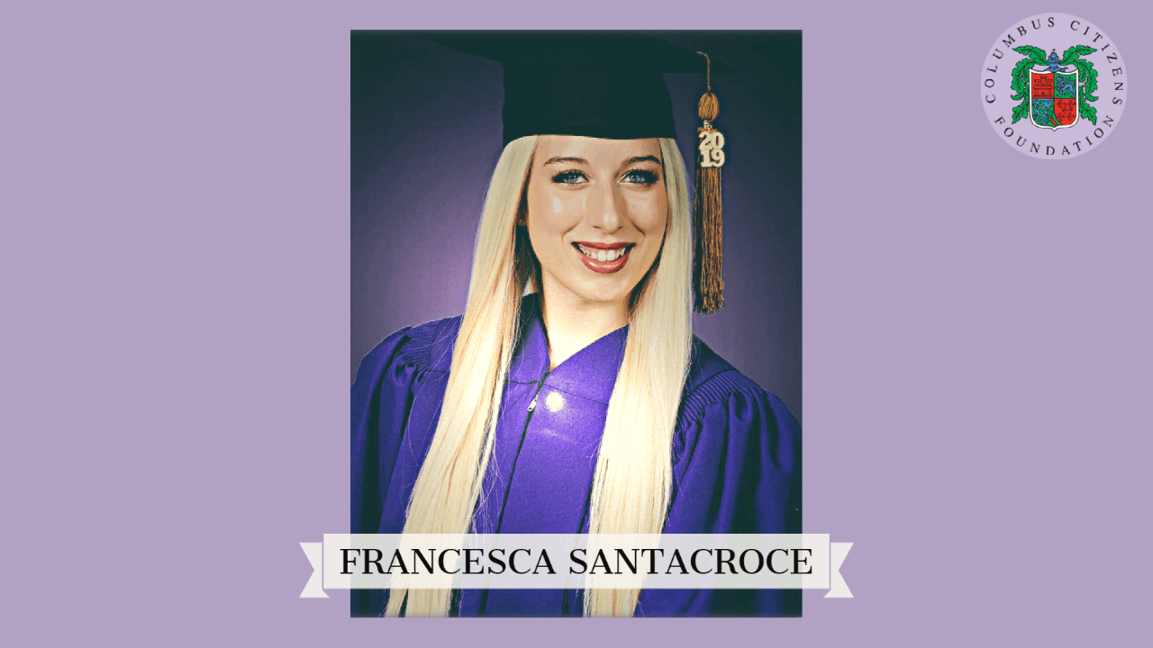 Featured Scholar: Francesca Santacroce